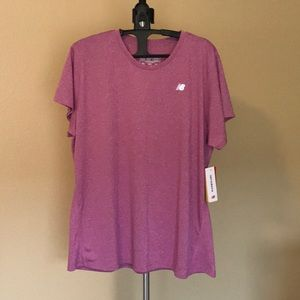 New Balance short sleeve athletic top